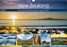 Christian Bosse: The most beautiful places down under (Wall Calendar 2020 DIN A3 Landscape), Diverse