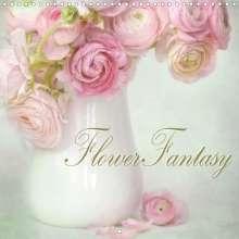 Lizzy Pe: Flower Fantasy (Wall Calendar 2021 300 × 300 mm Square), Kalender