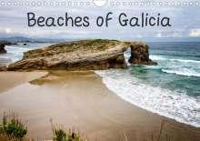 Robert Wood: Beaches of Galicia (Wall Calendar 2021 DIN A4 Landscape), Kalender