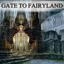 Katharina Hubner: GATE TO FAIRYLAND (Wall Calendar 2021 300 × 300 mm Square), Kalender