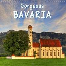 Marcel Wenk: Gorgeous Bavaria (Wall Calendar 2021 300 × 300 mm Square), Kalender