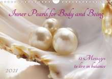 Katrin Jonas: Inner Pearls for Body and Being (Wall Calendar 2021 DIN A4 Landscape), Kalender