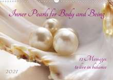 Katrin Jonas: Inner Pearls for Body and Being (Wall Calendar 2021 DIN A3 Landscape), Kalender