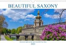Birgit Harriette Seifert: Beautiful Saxony (Wall Calendar 2021 DIN A4 Landscape), Kalender