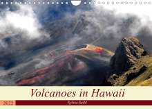 Crystallights By Sylvia Seibl: Volcanoes and Lava in Hawaii (Wall Calendar 2022 DIN A4 Landscape), Kalender