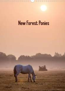 Kerto Koppel-Catlin: New Forest Ponies (Wall Calendar 2022 DIN A3 Portrait), Kalender