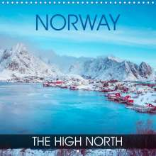 Val Thoermer: Norway - the high north (Wall Calendar 2022 300 × 300 mm Square), Kalender