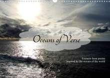 Sharon Poole: Oceans of Verse (Wall Calendar 2022 DIN A3 Landscape), Kalender