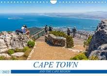Birgit Harriette Seifert: Cape Town and the Cape Region (Wall Calendar 2022 DIN A4 Landscape), Kalender