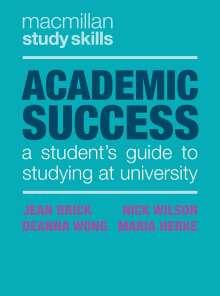Jean Brick: Academic Success, Buch