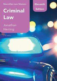 Jonathan Herring: Criminal Law, Buch