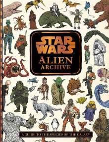 Lucasfilm Press: Star Wars: Alien Archive, Buch