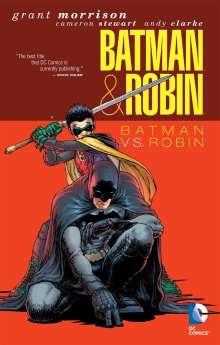 Grant Morrison: Batman & Robin: Batman vs. Robin, Buch