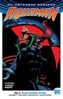Dan Abnett: Aquaman Vol. 2 Black Manta Rising (Rebirth), Buch
