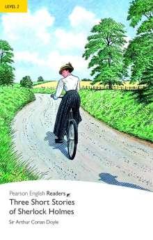 Arthur Conan Doyle: Penguin Readers Level 2 Three Short Stories of Sherlock Holmes, Buch