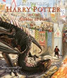 Joanne K. Rowling: Harry Potter and the Goblet of Fire. Illustrated Edition, Buch