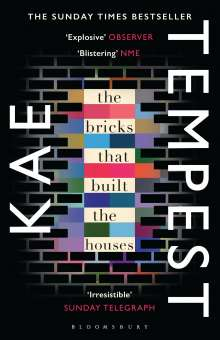 Kate Tempest: The Bricks that Built the Houses, Buch