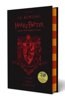 Joanne K. Rowling: Harry Potter and the Philosopher's Stone. Gryffindor Edition, Buch