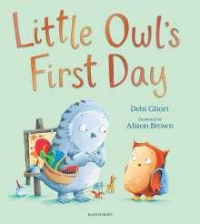 Debi Gliori: Little Owl's First Day, Buch