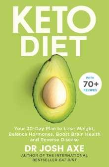 Josh Axe: Keto Diet, Buch