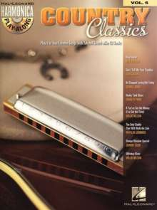 Harmonica Play-Along Volume 5: Country Classics, Noten