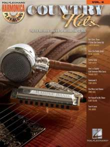 Country Hits: Harmonica Play-Along Volume 6 [With CD (Audio)], Noten