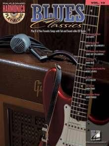 Blues Classics: Harmonica Play-Along Volume 10, Noten