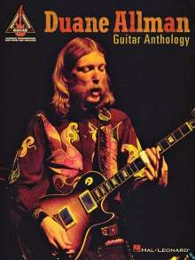 Duane Allman Guitar Anthology, Buch