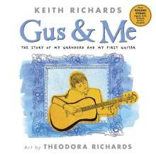Keith Richards: Gus and Me, Buch