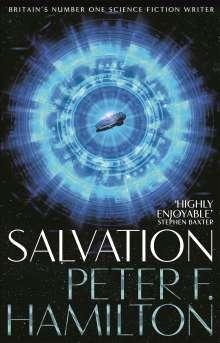 Peter F. Hamilton: Salvation, Buch