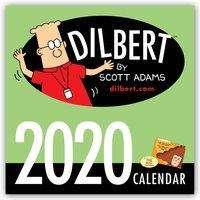 Scott Adams: Dilbert 2020 Wall Calendar, Diverse