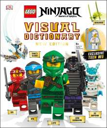 Arie Kaplan: Lego Ninjago Visual Dictionary, New Edition: With Exclusive Teen Wu Minifigure [With Toy], Buch