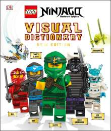 Arie Kaplan: Lego Ninjago Visual Dictionary, New Edition (Library Edition): With Exclusive Teen Wu Minifigure, Buch