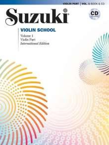 Shinichi Suzuki: Suzuki Violin School 1 International Edition mit CD, Buch