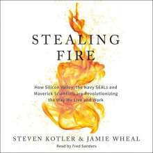 Steven Kotler: Stealing Fire: How Silicon Valley, the Navy SEALs, and Maverick Scientists Are Revolutionizing the Way We Live and Work, CD