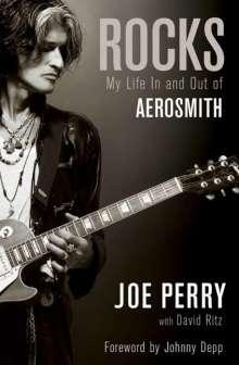 Joe Perry: Rocks, Buch