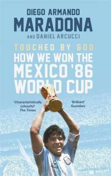 Diego Maradona: Touched by God, Buch
