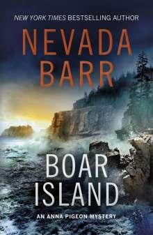 Nevada Barr: Boar Island (Anna Pigeon Mysteries, Book 19), Buch