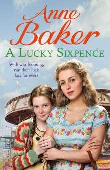 Anne Baker: A Lucky Sixpence, Buch