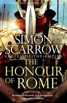Simon Scarrow: The Honour of Rome, Buch