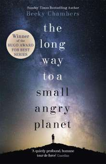 Becky Chambers: The Long Way to a Small, Angry Planet, Buch