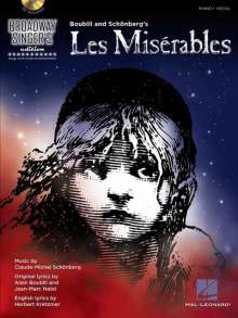 Alain Boublil: Les Miserables: Broadway Singer's Edition [With CD (Audio)], Noten