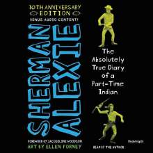 Sherman Alexie: The Absolutely True Diary of a Part-Time Indian, 4 CDs