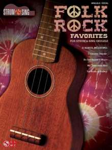 Folk Rock Favorites for Strum & Sing Ukulele, Noten