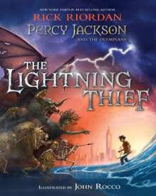 Rick Riordan: Percy Jackson and the Olympians the Lightning Thief, Buch