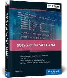 Jörg Brandeis: SQLScript for SAP HANA, Buch