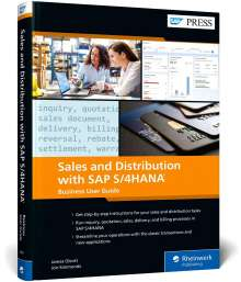 James Olcott: Sales and Distribution with SAP S/4HANA: Business User Guide, Buch