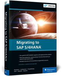 Frank Densborn: Migrating to SAP S/4HANA, Buch