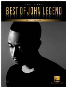 John Legend: Best Of John Legend - 2017 Edition Book & Audio - For Easy Piano, Noten