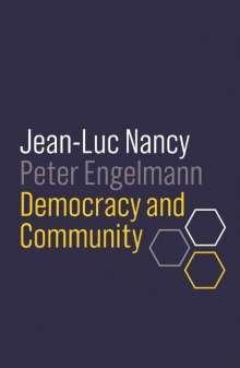 Jean-Luc Nancy: Democracy and Community, Buch